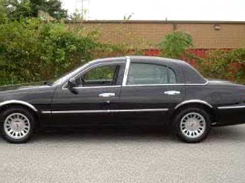 Sold 2002 Lincoln Town Car Cartier 21222 Norris Ford Of Du Youtube