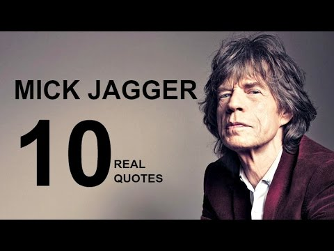 Mick Jagger 10 Real Life Quotes on Success   Inspiring   Motivational Quotes