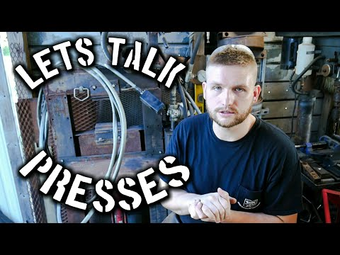 A Quick Chat About the Blacksmith Forging Press