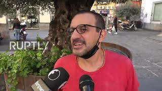 Italy Maradona is immortal Naples residents react to death of Argentine football legend