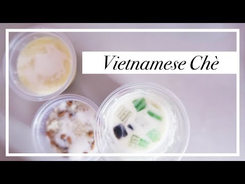 Try A Traditional Vietnamese Dessert in Saigon aka Chè  🍲