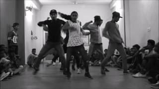 chhavi sharma funk hiphop dance workshop delhi week 3