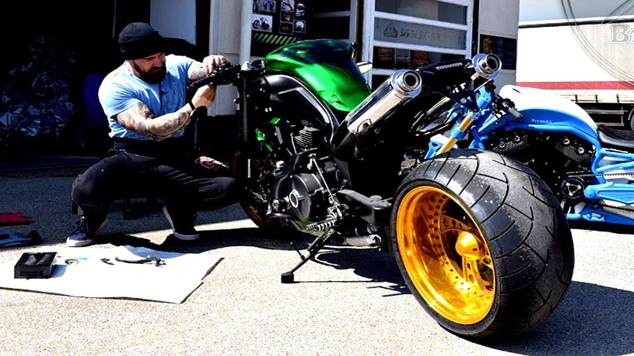 "? Yamaha MT #Custom ""Fallout Green"" by SK-Brush"