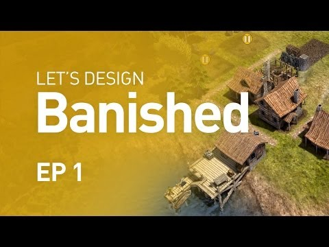 Let's Design Banished - Surviving in the Wilderness (EP 1)