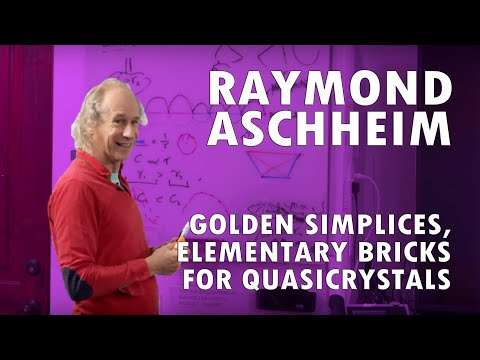 Golden Simplices, Elementary Bricks for Quasicrystals by Raymond Aschheim