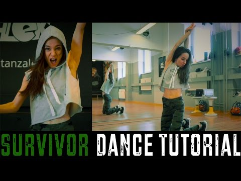 "DANCE TUTORIAL ""SURVIVOR"" Jazz Funk Choreography by Alex Neüff (deutsch)"