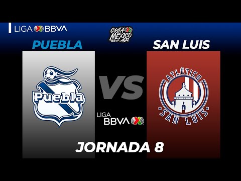 Puebla San Luis Goals And Highlights