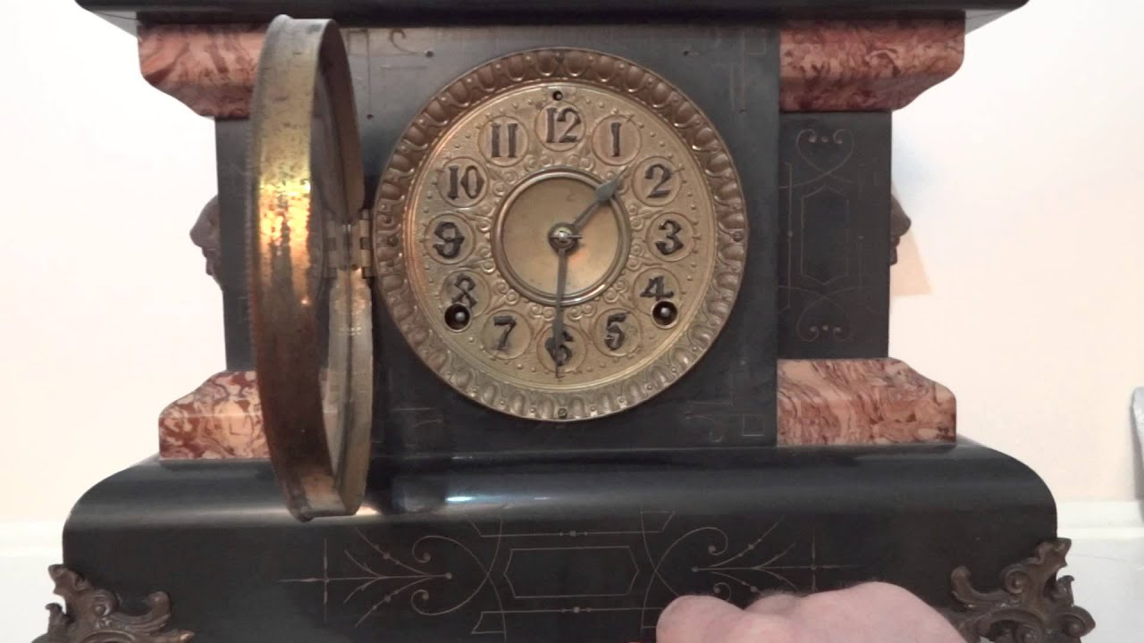 Antique Seth Thomas Clock From Antiquesofamerica Com Youtube