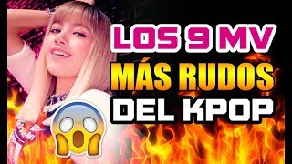 LOS 9 MV RUDOS DEL K-POP - [OtitoMola]