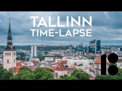 Tallinn, EV100 — Time-Lapse 4K