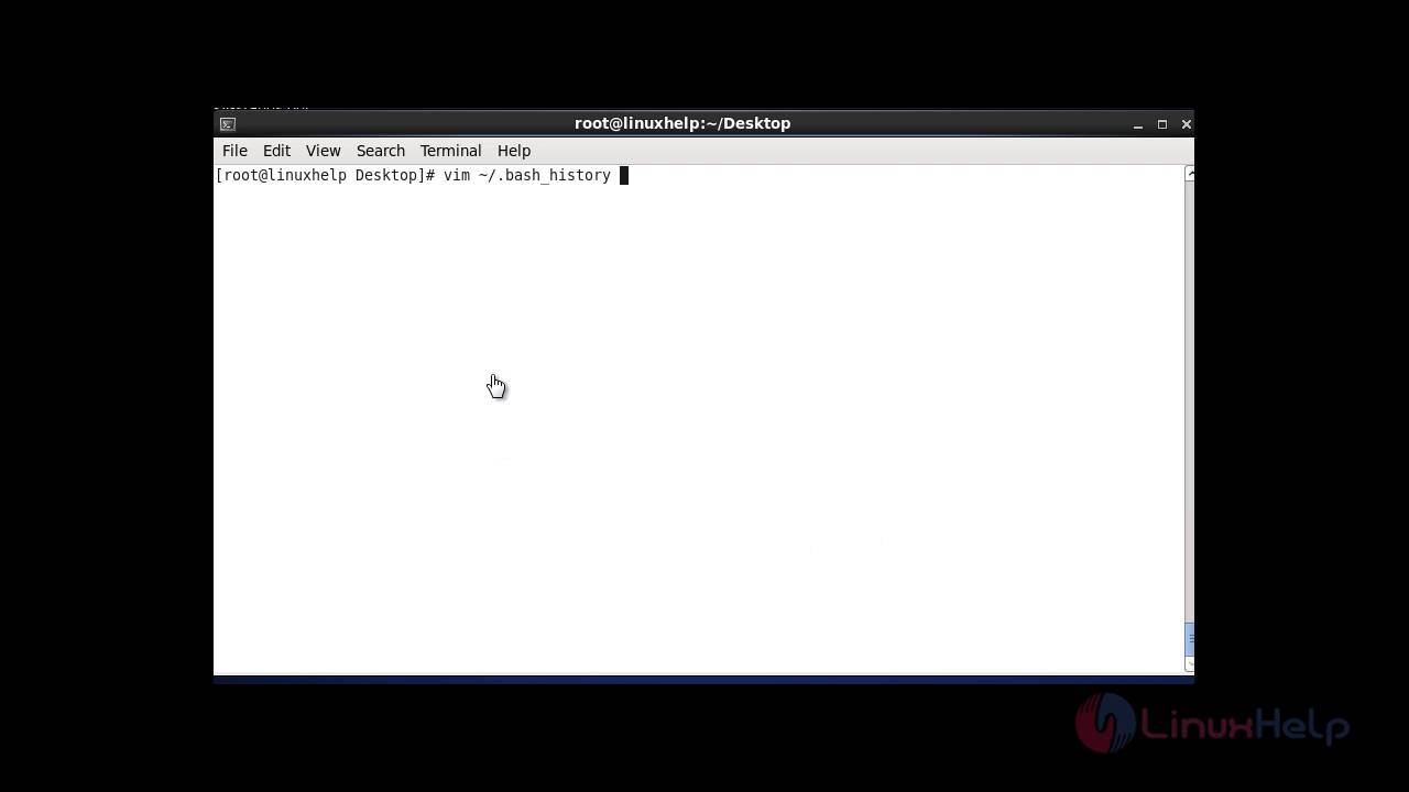 History Command in Linux With Examples | LinuxHelp Tutorials