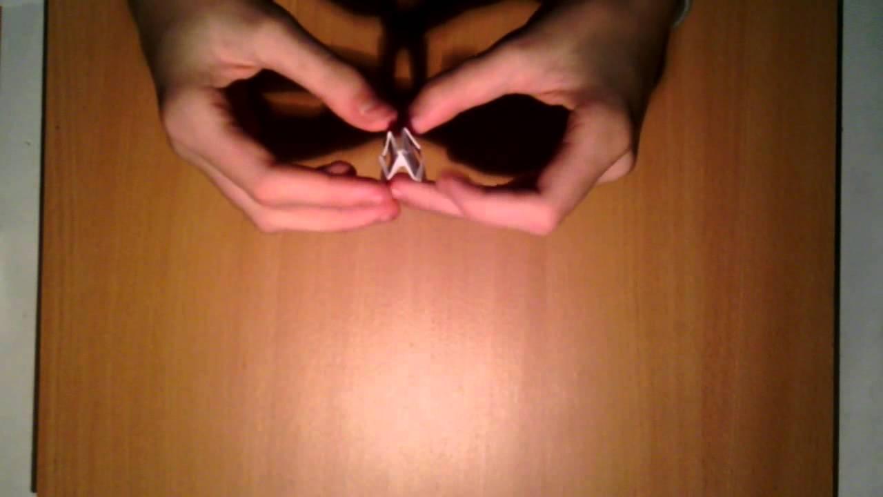 einen origami ring selbst basteln schmuck aus papier. Black Bedroom Furniture Sets. Home Design Ideas