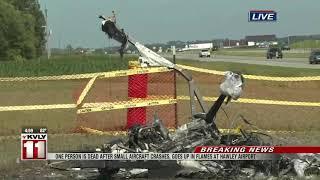 Fatal aircraft crash in Hawley, MN