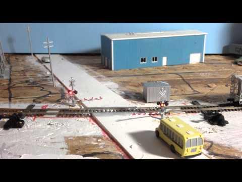 Azatrax Crossing Gate Controller - YouTube