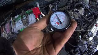 Плохо заводится утром бензиновый двигатель  Honda. Проверка бензонасоса