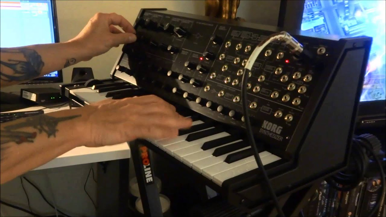 korg ms 20 mini analog synth odyssey youtube. Black Bedroom Furniture Sets. Home Design Ideas