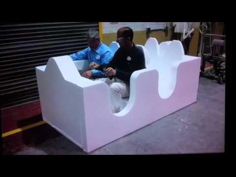 Seven Dwarfs Mine Train Ride vehicle design and testing - D23 Expo