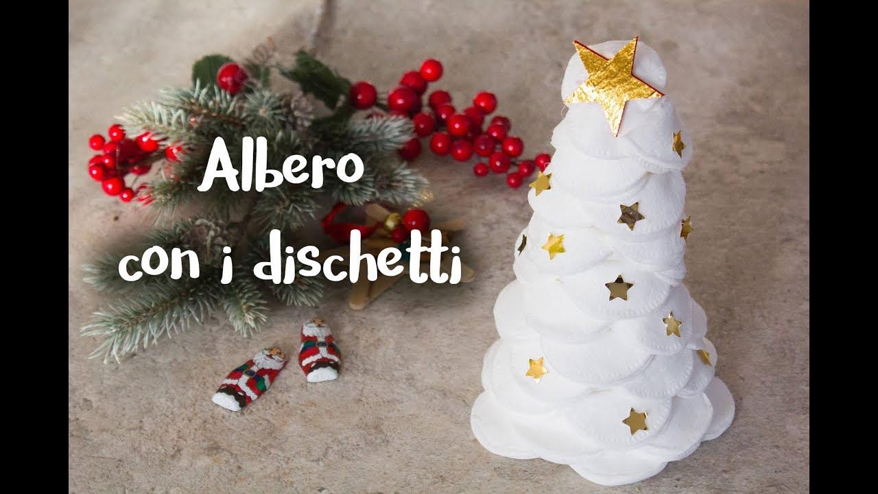Eccezionale Alberello di Natale con dischetti struccanti - YouTube AW43