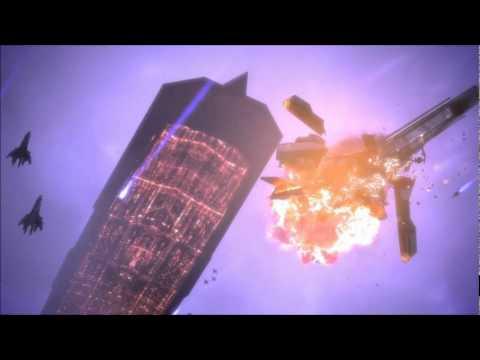Mass Effect 1 - Sovereign Attacks the Citadel