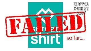 Digital T-Shirt Shop - Spreadshirt - So far this has been a major failure for me.