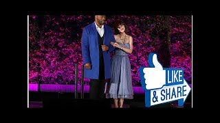 See photos of Zooey Deschanel, Taye Diggs, and more in 'Beauty and the Beast' at the Hollywood Bowl
