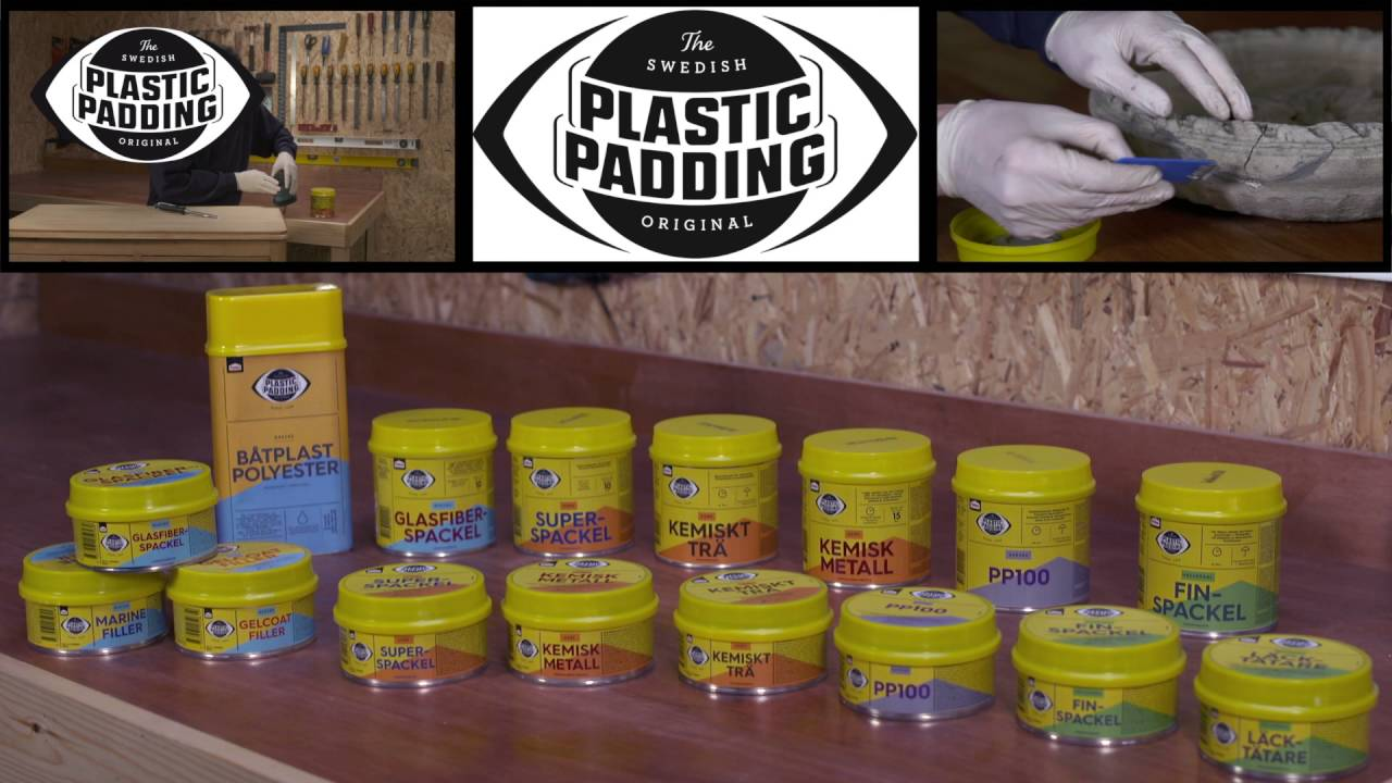 Pæn How to use Plastic Padding to repair the house? - YouTube LI03