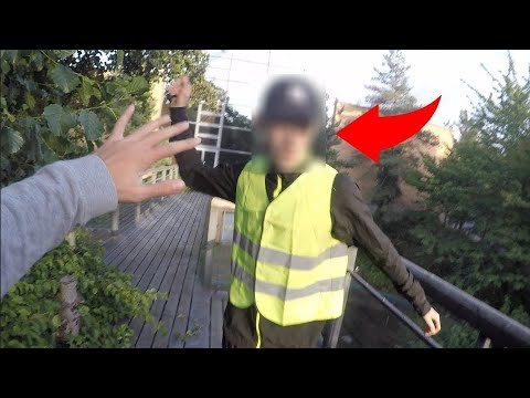 PARKOUR Vs. SECURITY - Real Chase Situation #025 [Stunt SWE]