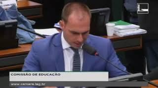 Eduardo Bolsonaro defende ensino a distância na comissão de educação (06/DEZ/2017)