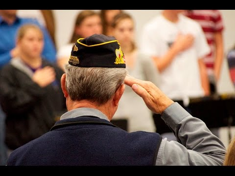 Veterans Day 2016 - O'Neill High School - O'Neill, Nebraska
