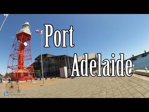 Thai At Downunder พาไปเที่ยว Port Adelaide แวะเดินเที่ยว fisherman wharf market  Part 6/7