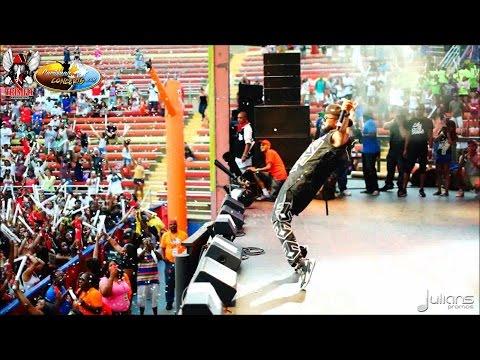 2015 Six Flags Caribbean Concert Highlights - Machel Montano & Friends 7/12/13