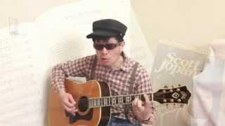 A Real Slow Drag from Treemonisha, by Scott Joplin - Opera tune on guitar