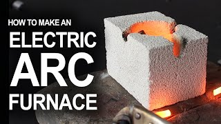 How To Make An Electrical Arc Furnace(How to hack flashlight batteries and a fire brick, into a desktop arc reaction chamber. ...For hobby metal melting, and for science! Some quick links to a few of the ..., 2015-03-05T19:16:09.000Z)