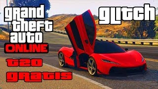 GTA 5 ONLINE | GLITCH AUTO SUPER  GRATIS   ( T20  ZENTORNO ADDER ) new glitch