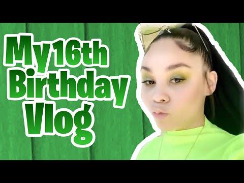 Happy 16th Birthday To Me 🎉 / My Birthday Vlog