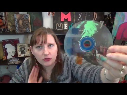 Recycled CD How To Remove The Foil
