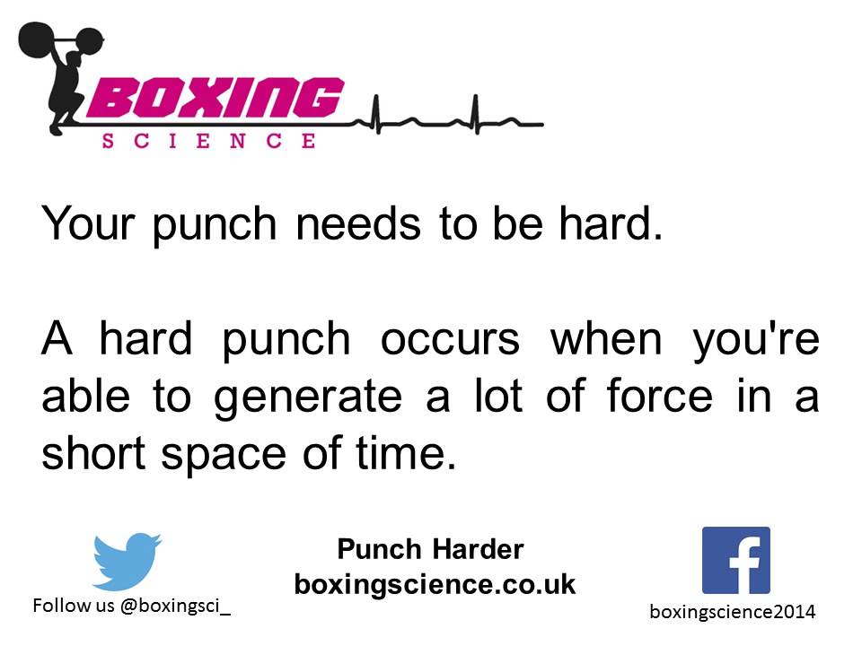 Punch Force - The Science Behind The Punch