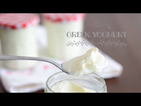 How To Make Greek Yoghurt At Home Without Using Machine