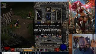 Dueling in Diablo 2 for TYRAEL'S MIGHT - Epic Iceman PvP