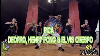 Pica - Deorro, Henry Fong &amp Elvis Crespo Zumba(R) Choreo Siddy