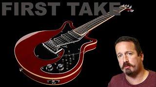 guitar review harley benton bm 70 brian may inspired awesome