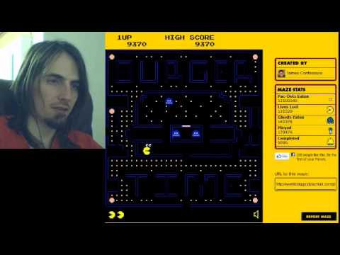 WORLD'S BIGGEST PACMAN GAME!