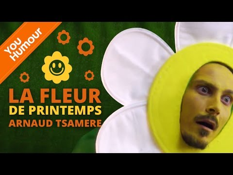 ARNAUD TSAMERE - La fleur de printemps