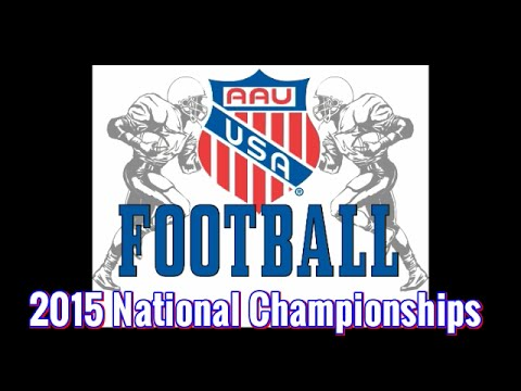 2015 AAU Football Championship HighLights from 13DEC15