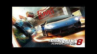 Asphalt 8 Unlimited First Time Stream On My Channel
