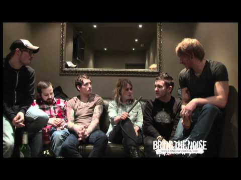 Funeral For A Friend Video Interview, London Borderline