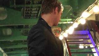 BSB Cruise 2010 - Nick getting crazy on the bar