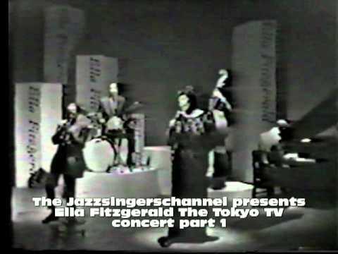 Ella Fitzgerald in concert Japan part 1
