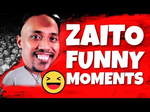 🔴 FlipTop - ZAITO FUNNY MOMENTS (IBA TALAGA SI IDOL!)