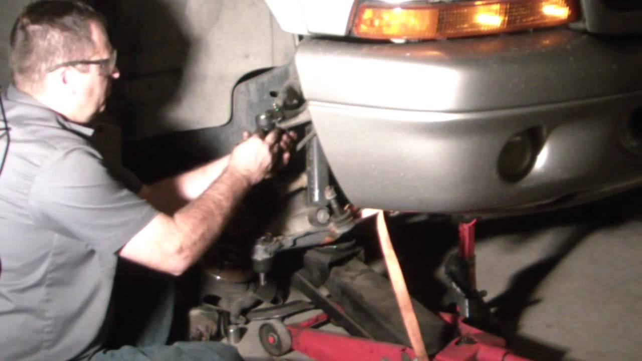 Replacing Upper And Lower Ball Joints On 2001 Dodge Durango 4x4